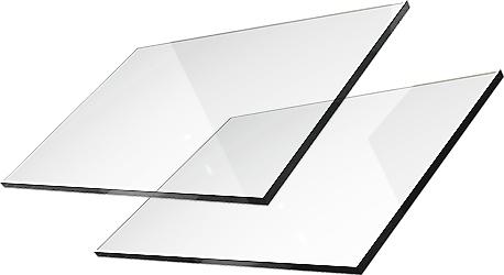 Стекло для камина стекло SAMOCZYSZCZĄCA 59x38