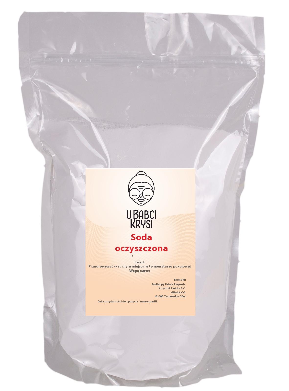 Пищевая сода 1 кг ПИЩЕВОЙ ГИДРОКАРБОНАТ НАТРИЯ