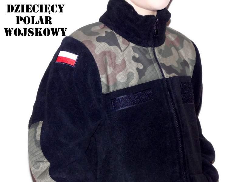 Black FLEECE izolácie vojenské vojakov -140-