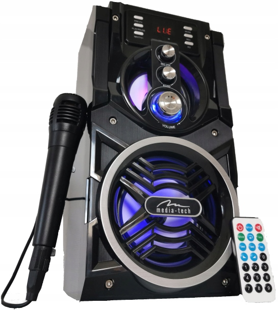 Item COLUMN 800 W WIRELESS BOOMBOX MP3 PLAYER