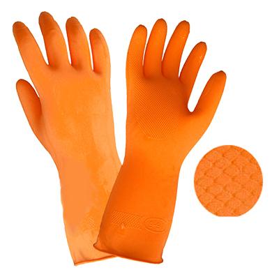 Rękawiczki ogrodowe LATEKSOWE rękawice ochronne S