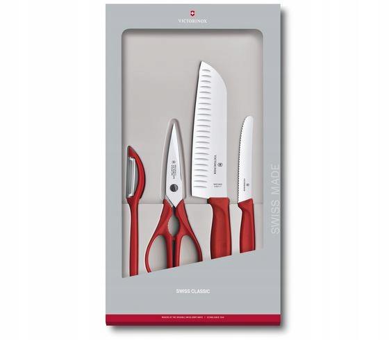 Купить Victorinox ножи SWISS Classic 4 ELEME 671314G на Eurozakup - цены и фото - доставка из Польши и стран Европы в Украину.