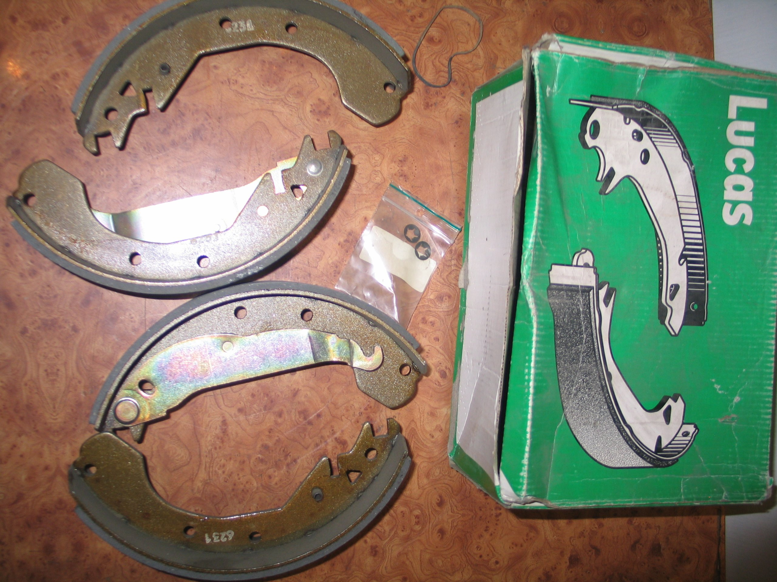 челюсти колодки opel kadett d+e 23051mm универсал