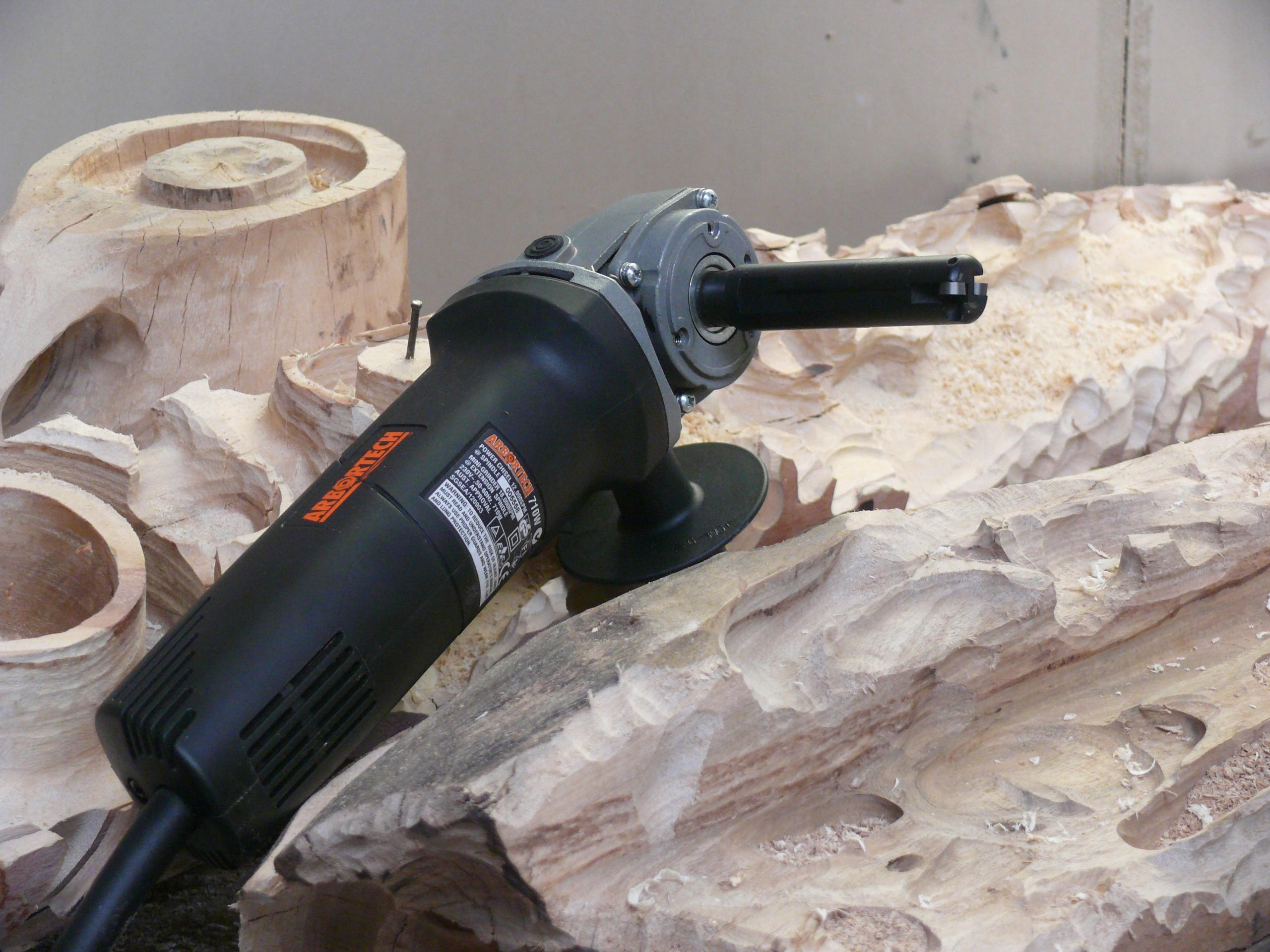 rotujúci hriadeľ frézy na drevo pre rezbárov