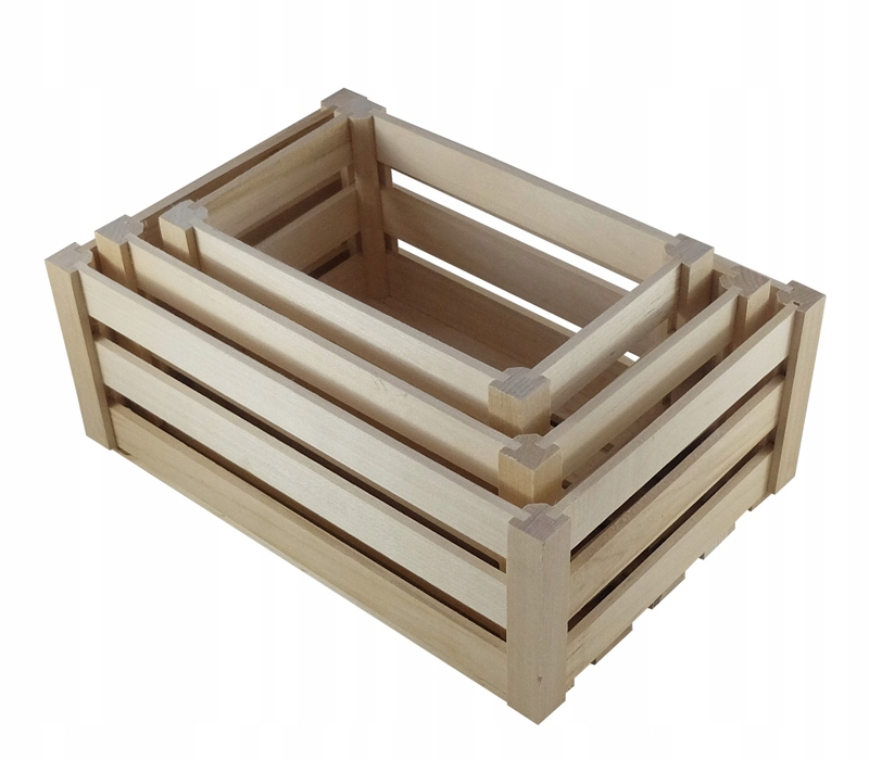 Item Boxes, wooden set 3 in 1 wooden box
