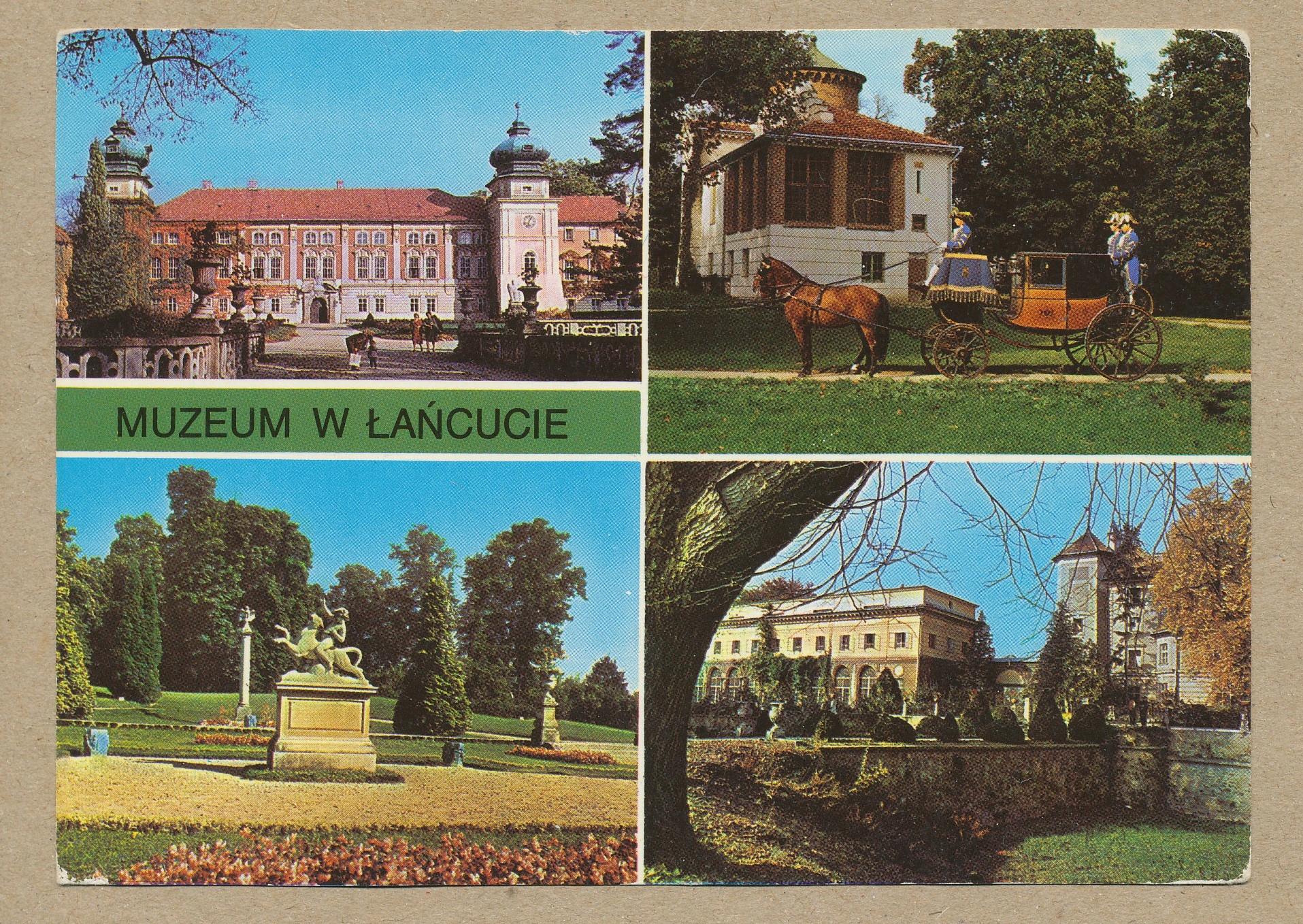ŁAŃCUT - PAŁAC MUZEUM mix zdjęć 1980 r.