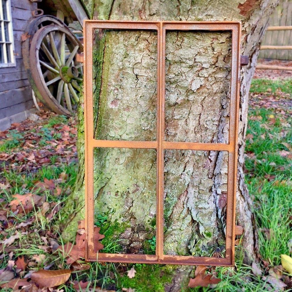 NOVÉ okno liatiny retro 75x45cm