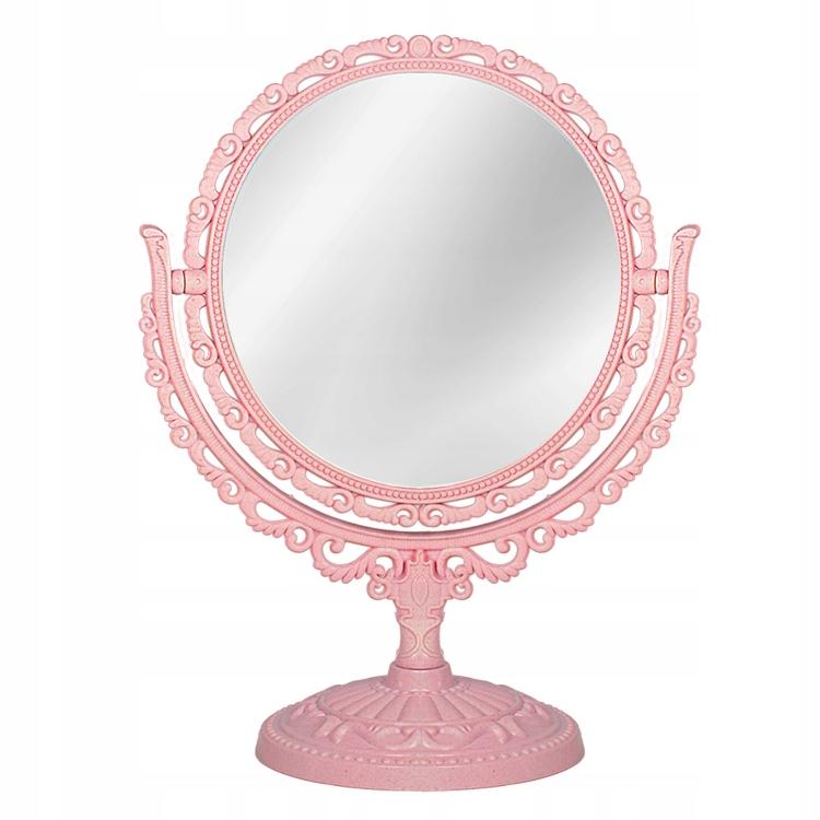 Obojsmerná zrkadlo ROČNÍK 15 cm rózowe K9999