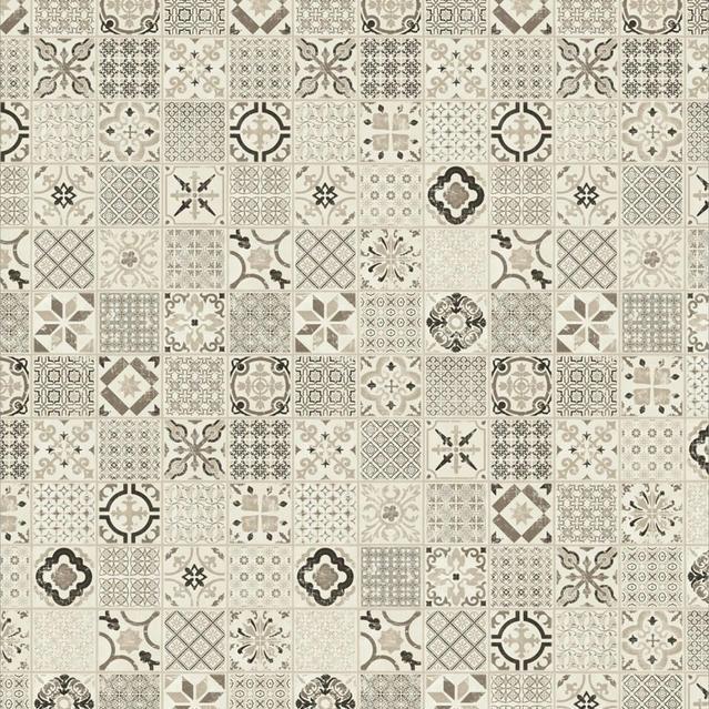 Starfloor Click Ретро черные белые виниловые плитки