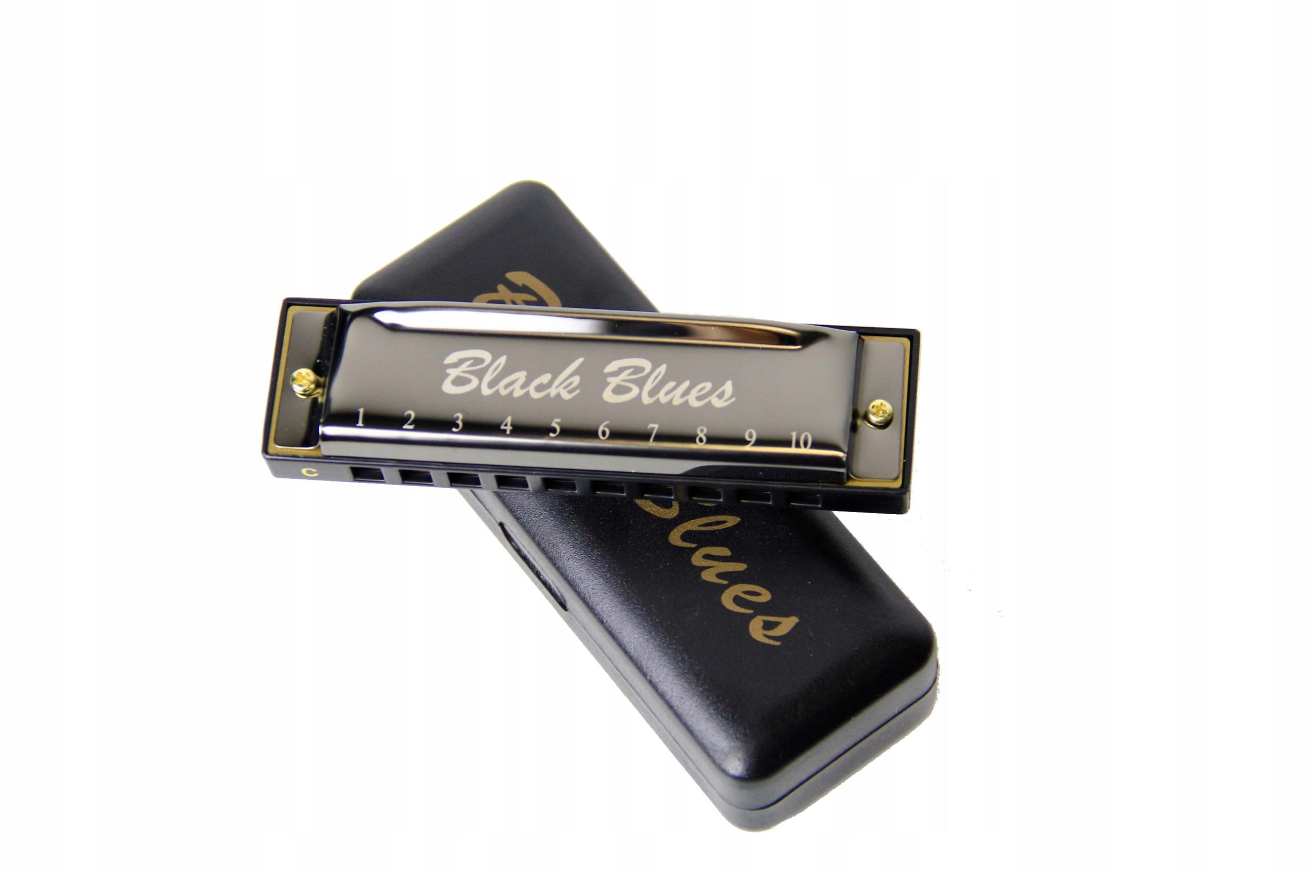 Item Harmonica Black Blues C diatoniczna organki
