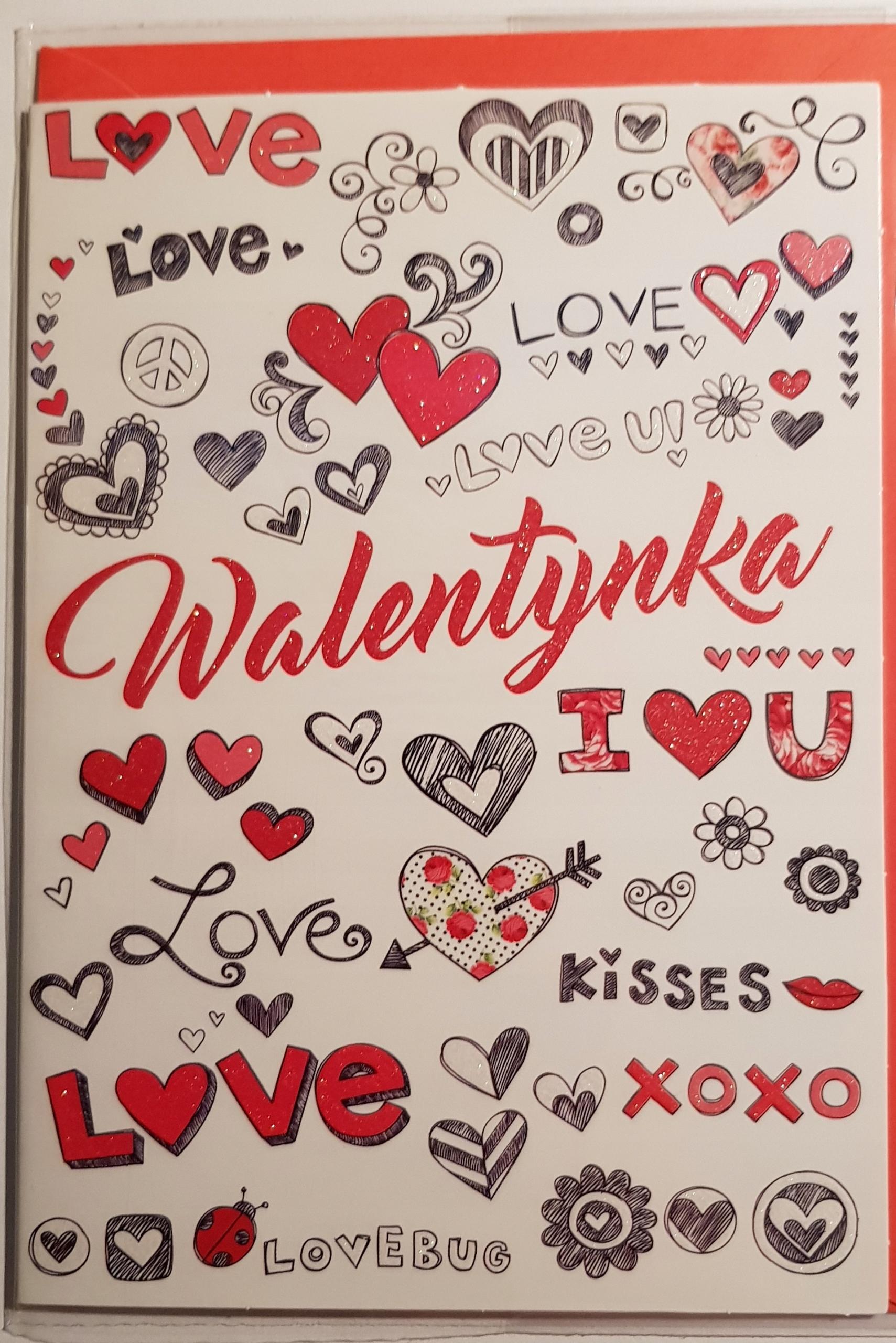 Kartu pre Valentína denné karty pre deň milencov