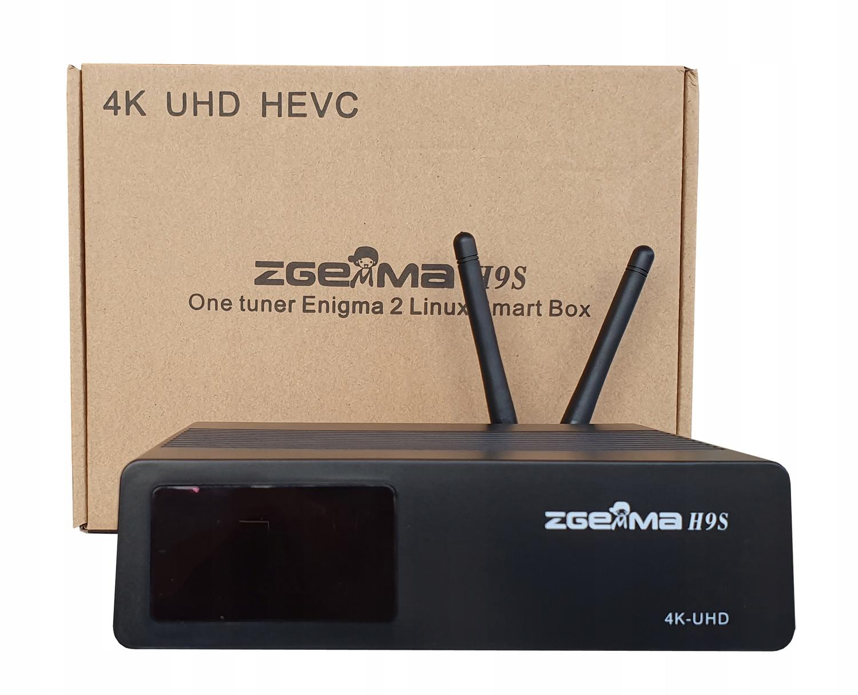 ТЮНЕР ZGEMMA H9S 4K 1xDVB-S2X ENIGMA LINUX OSCAM