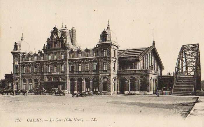 Calais - La Gare. 191-?