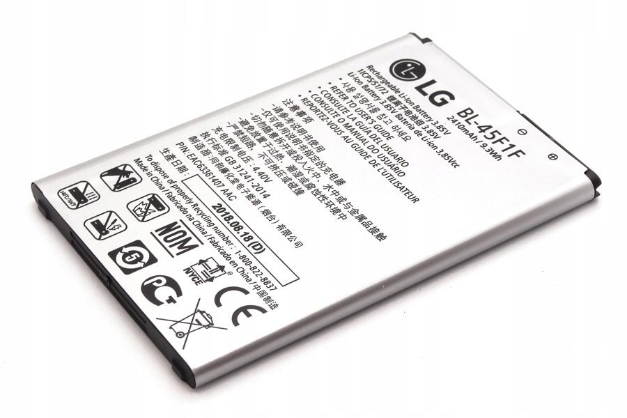 Bateria Lg BL-45F1F 2410mAh | Lg K4 Lg K8
