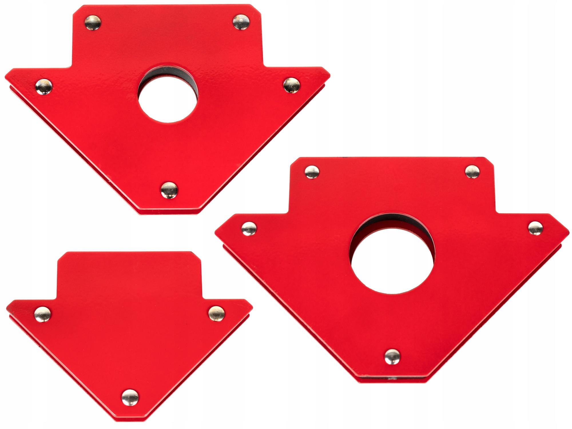 Kątownik Uchwyt Magnetyczny Spawalniczy ZESTAW x3