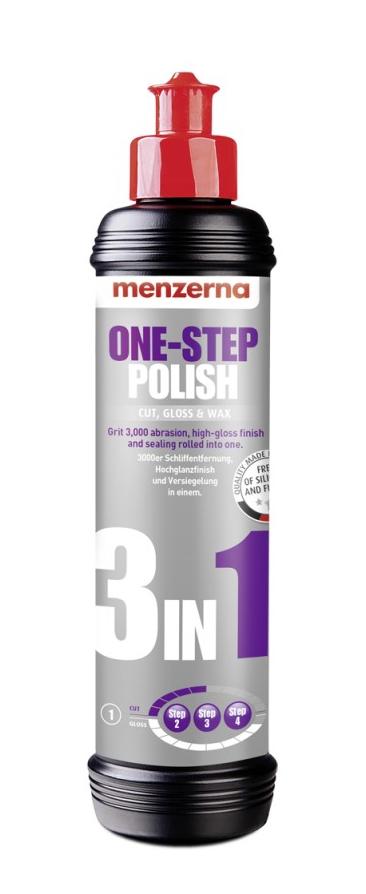 Menzerna 3 в 1 One Step Polish полировальная машина AIO 250 мл