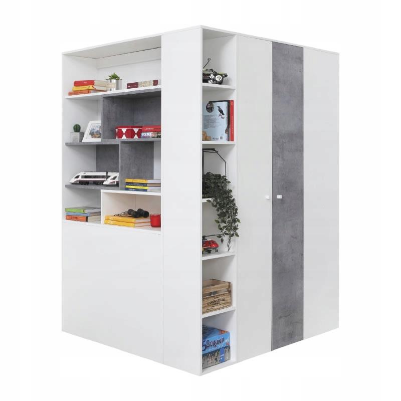 мебель Сигма 1 большой шкаф гардероб угловой ящик