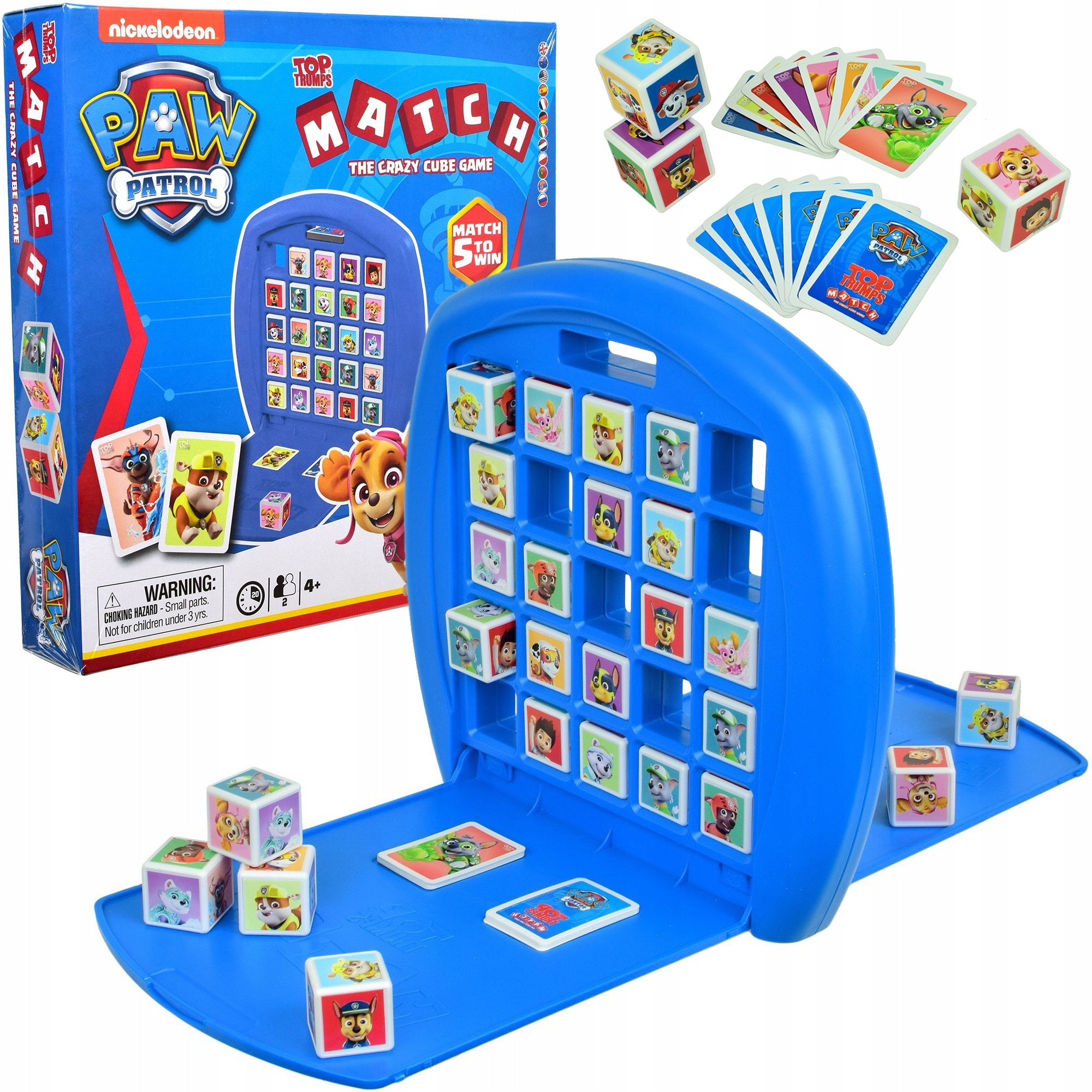 PAW PATROL GAME CRAZY CUBE MATCH