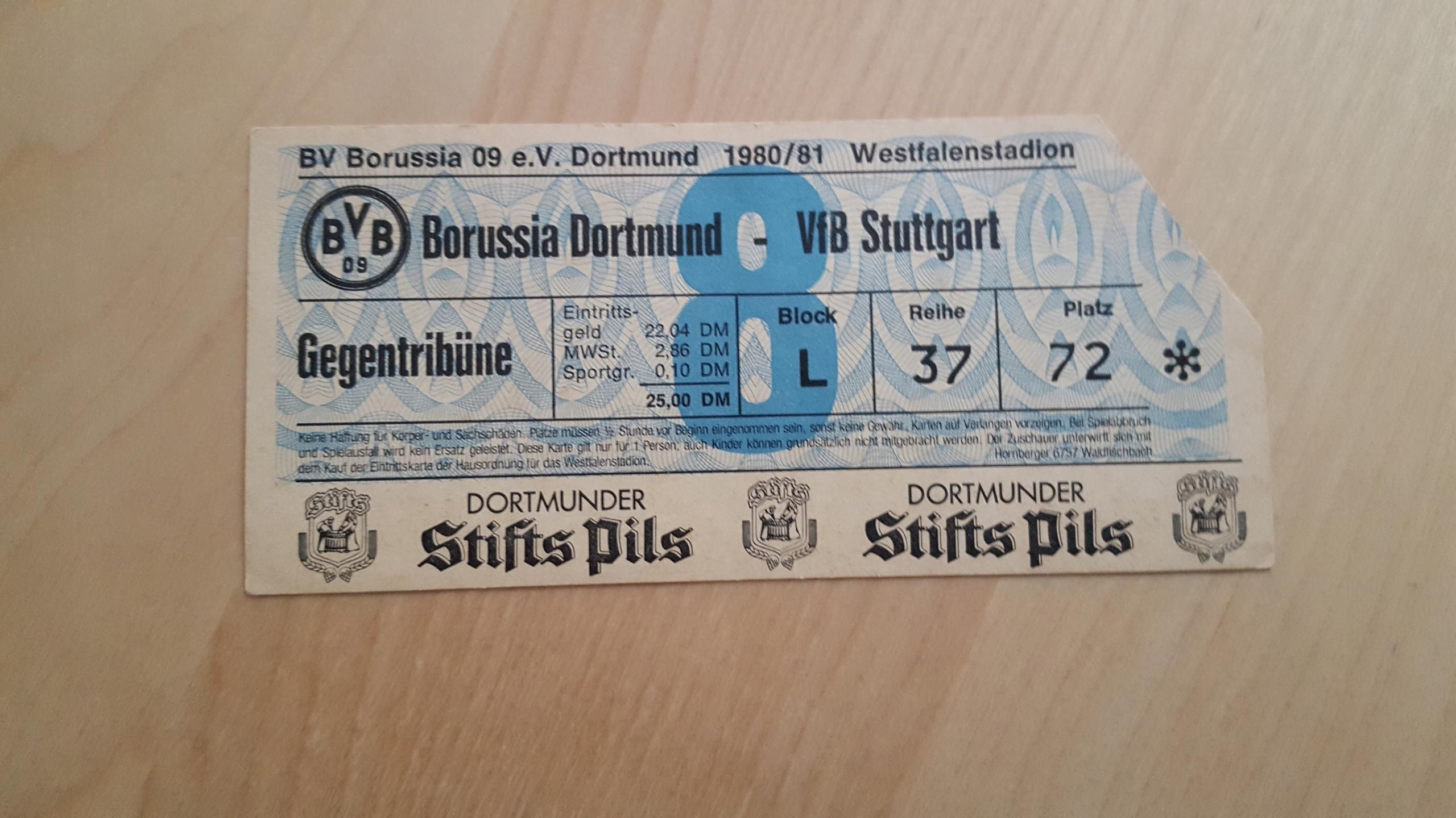Купить БОРУССИЯ DORTMUNDVFB Stuttgart 198081 на Eurozakup - цены и фото - доставка из Польши и стран Европы в Украину.