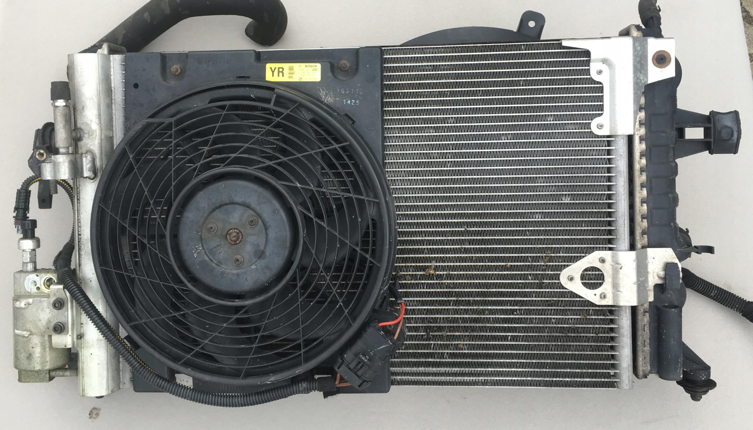 радиатор радиаторы opel astra g zafira 18 16v
