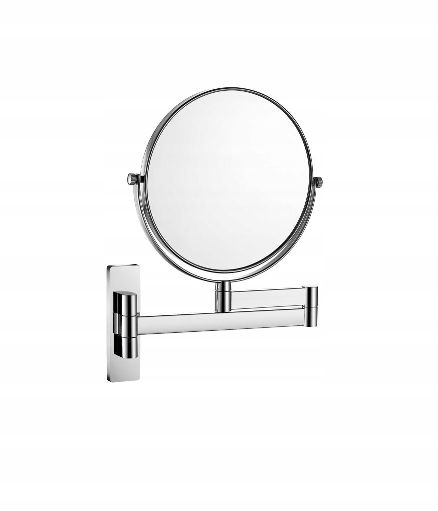 SYSTÉM Zrkadlo je jednoduché, zväčšovacie sklo, STELLA chrome