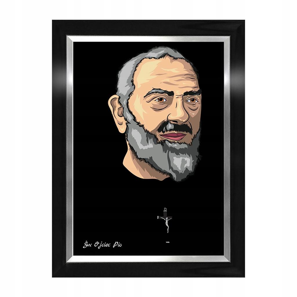 Obraz Święty Ojciec Pio Donum Artis Święci religia