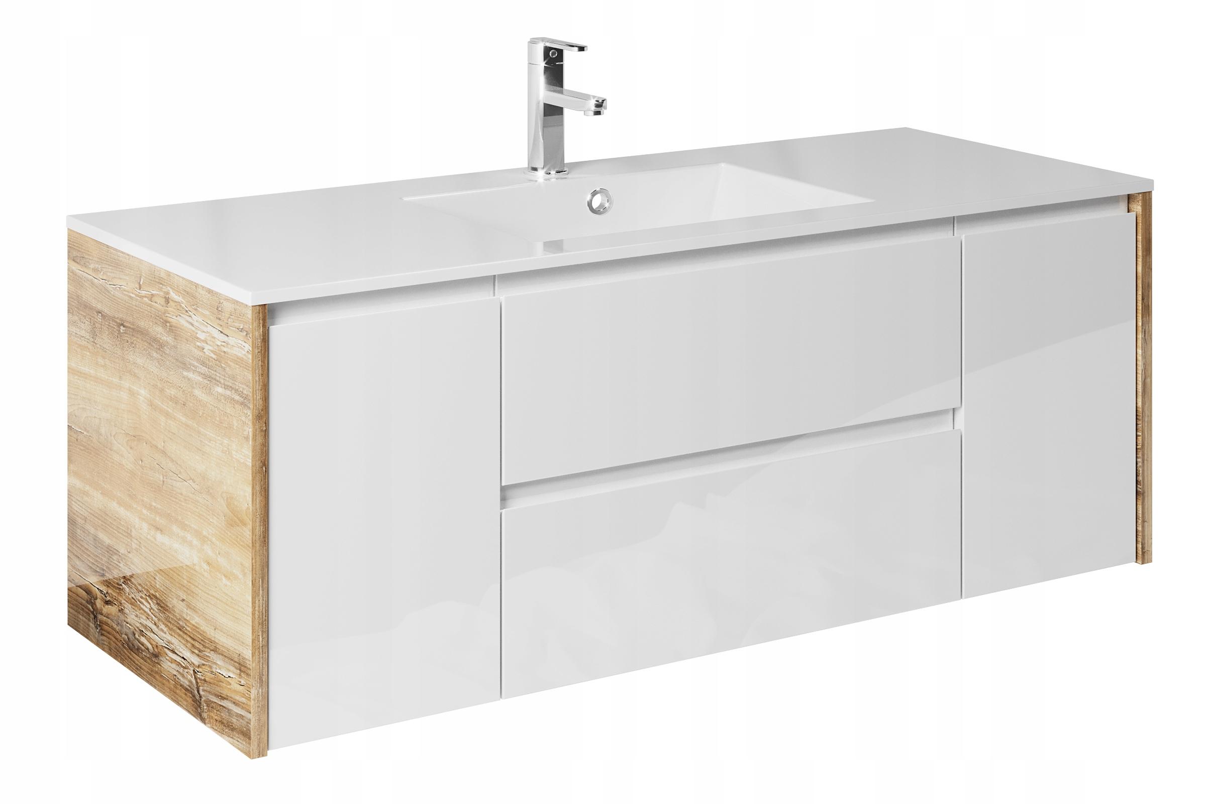 Skrinka s umývadlom 120 x 48 kúpeľňový Nábytok HECTOR