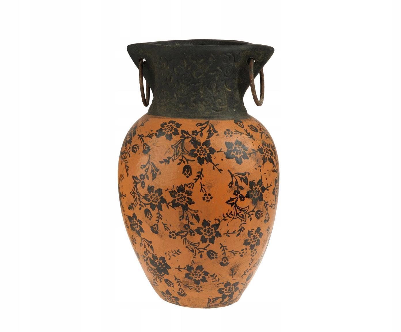 Váza keramické RUČNE VYROBENÉ super RETRO INDONÉZIA