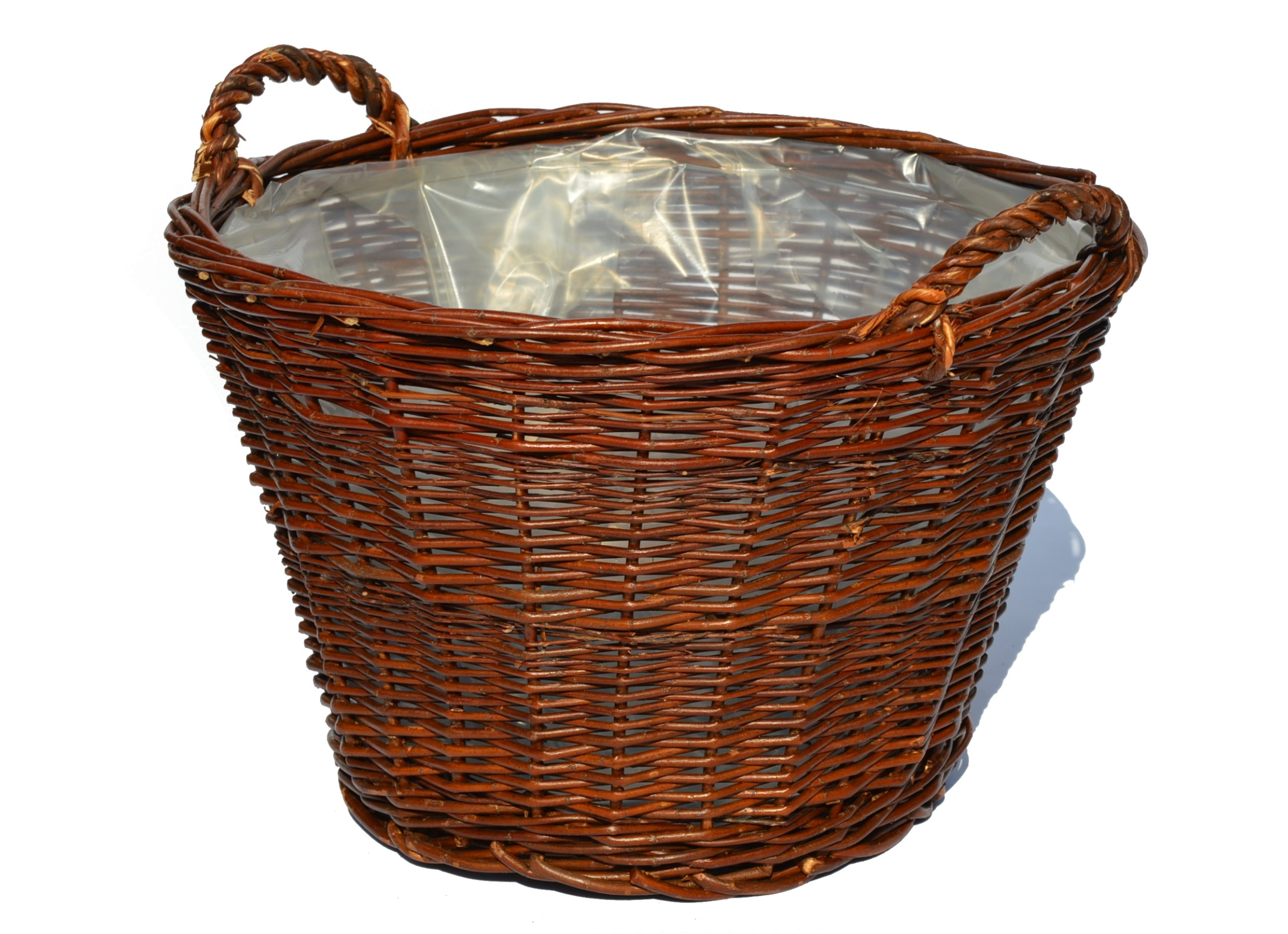 Hospodársky košík Bench prútený prútený FI 60 cm