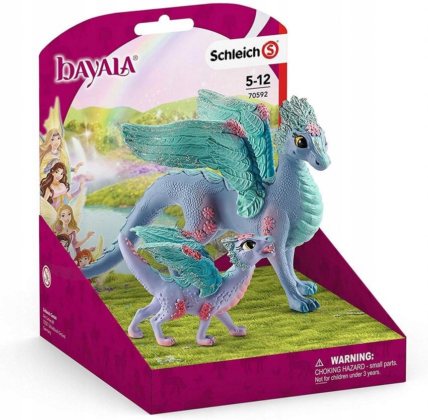Schleich Bayala 70592 Ženská dračica s detským drakom