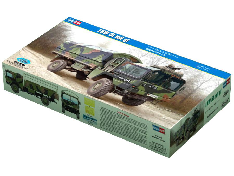 Ciężarówka MAN LKW 5t KAT1 85507 Hobby Boss