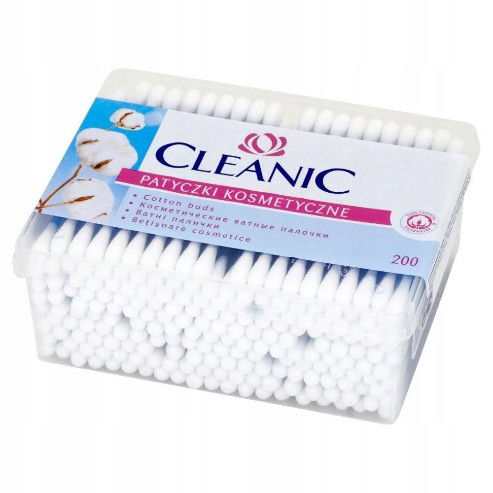 CLEANIC 200шт палочки косметические коробка ХИТ