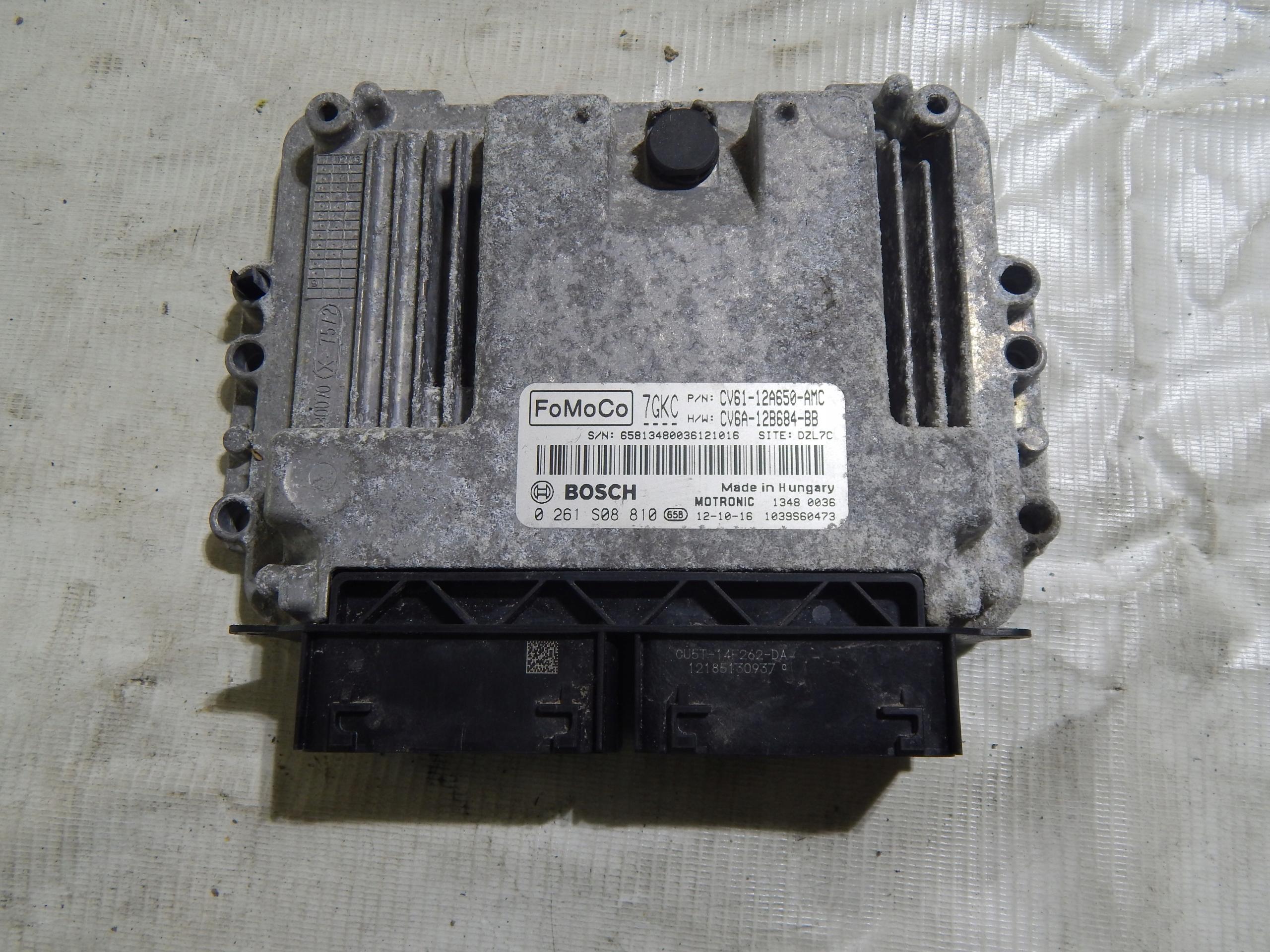 компьютер двигателя focus mk3 10 ecoboost 0261s08810