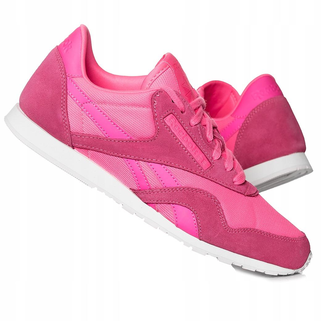 Купить Обувь Reebok Royal Cl Nylon Slim Металлик AR2718 на Otpravka - цены и фото - доставка из Польши и стран Европы в Украину.