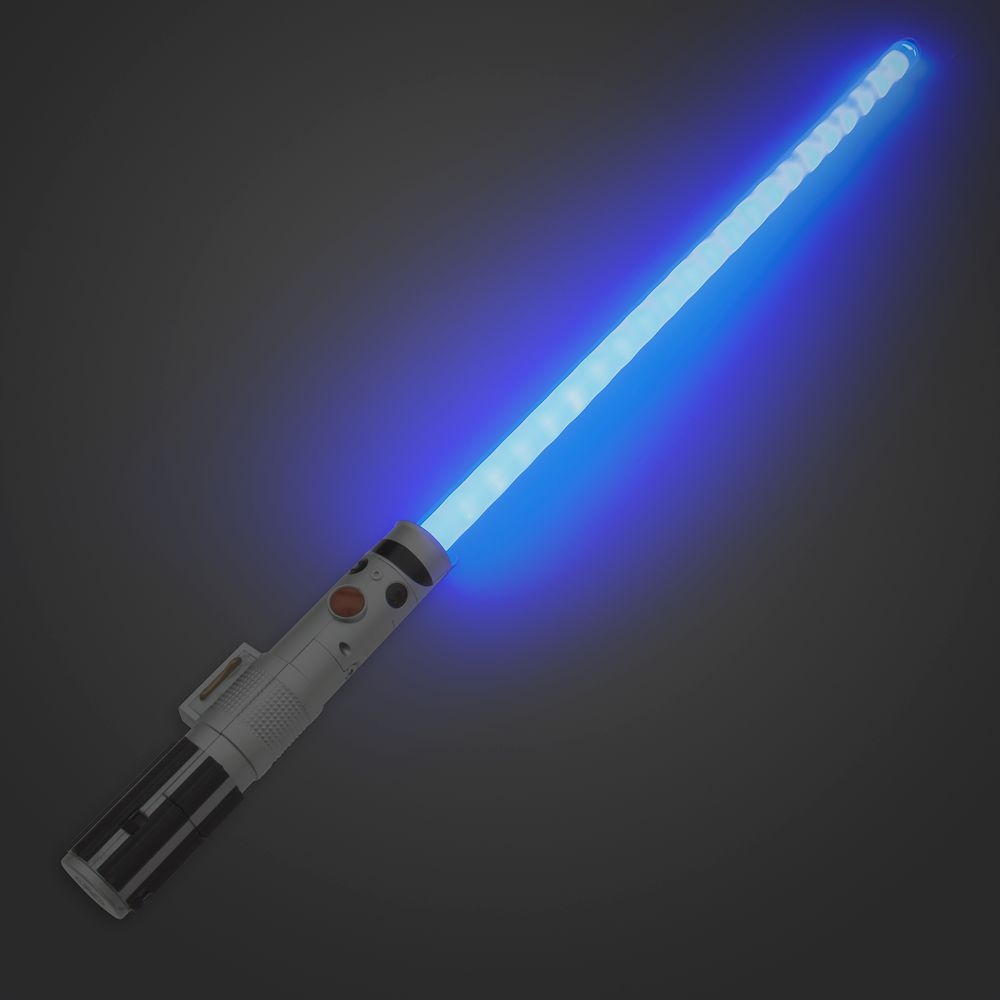 REY LIGHT SWORD STAR WARS DISNEY BLUE FX