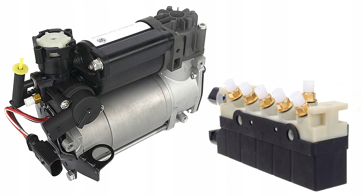 w220 lift новая планка + компрессор airmatic комплект