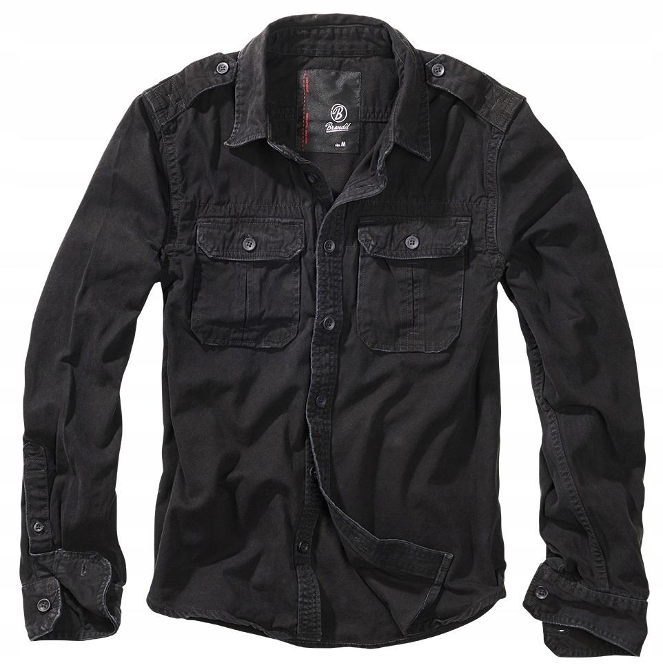 Tričko špeciálne oblečenie pre motocyklistov BRANDIT vintage Čierna, chopper