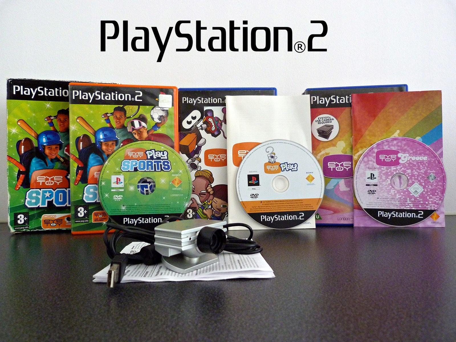 EyeToy Play Sports PS2 ENGLISH CAMERA + ZADARMO