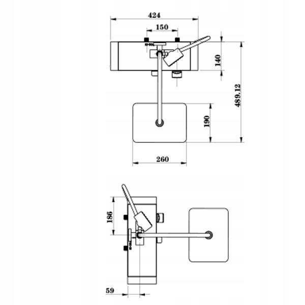6c83b927492da6e2e385fc7be14e Bateria prysznicowa natynkowa TSM700K czarna