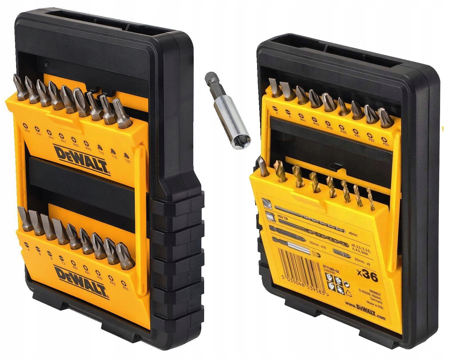 DeWalt DT71565 комплект Сверл и Бит 36 штук