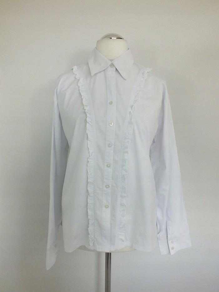 Z1' Biała rozpinana bluzka koszula Nowa 52 54