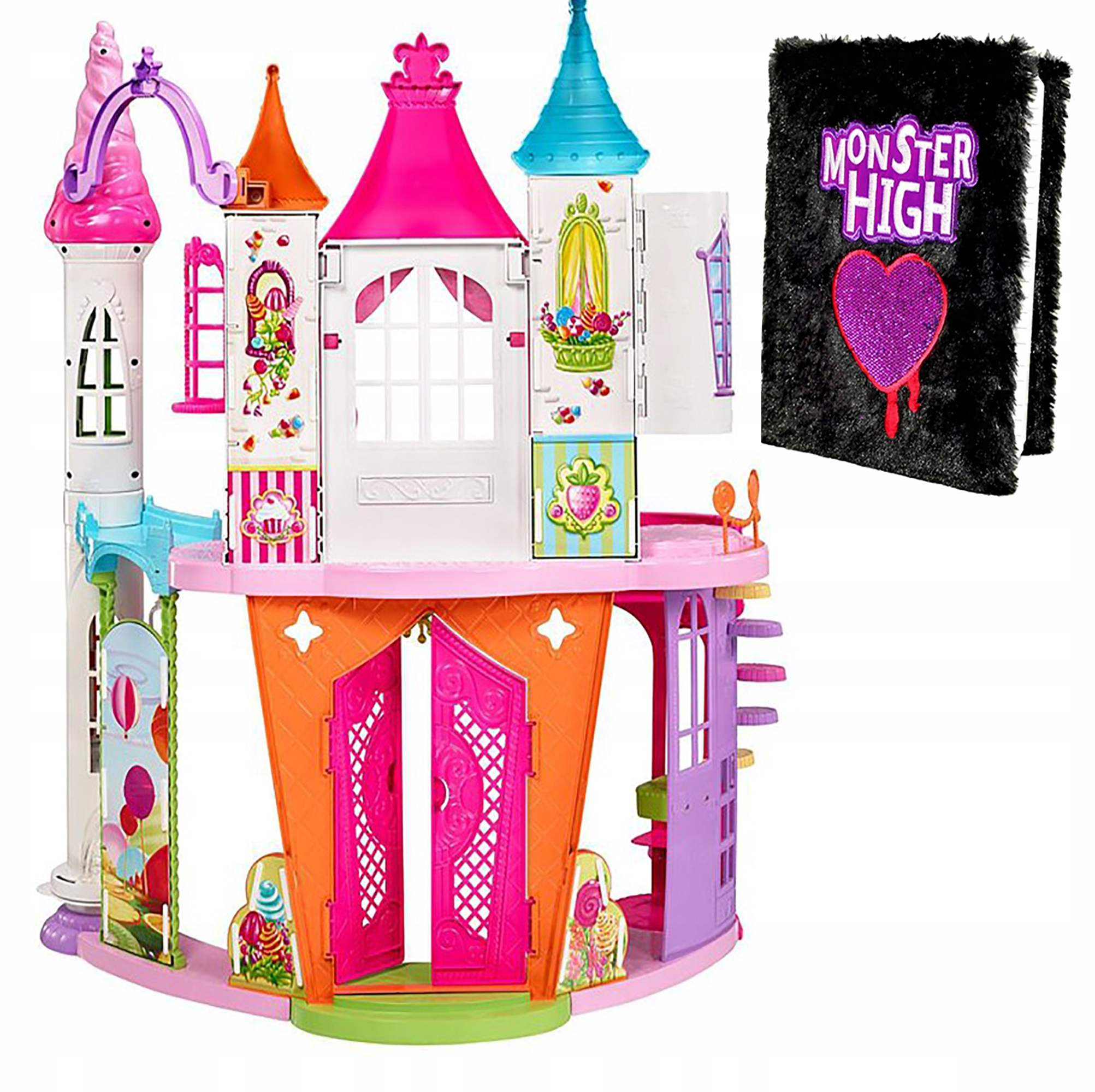 BARBIE DYX32 PALACE CASTLE SWEETNESS LAND DREAMTOP
