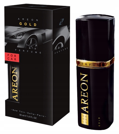 Areon Car New perfume 50 мл Gold духи для автомобиля