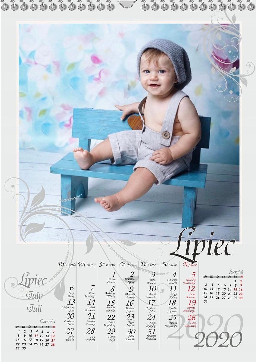 Fotografie kalendár s fotografiami A3 pre Grandc Deň