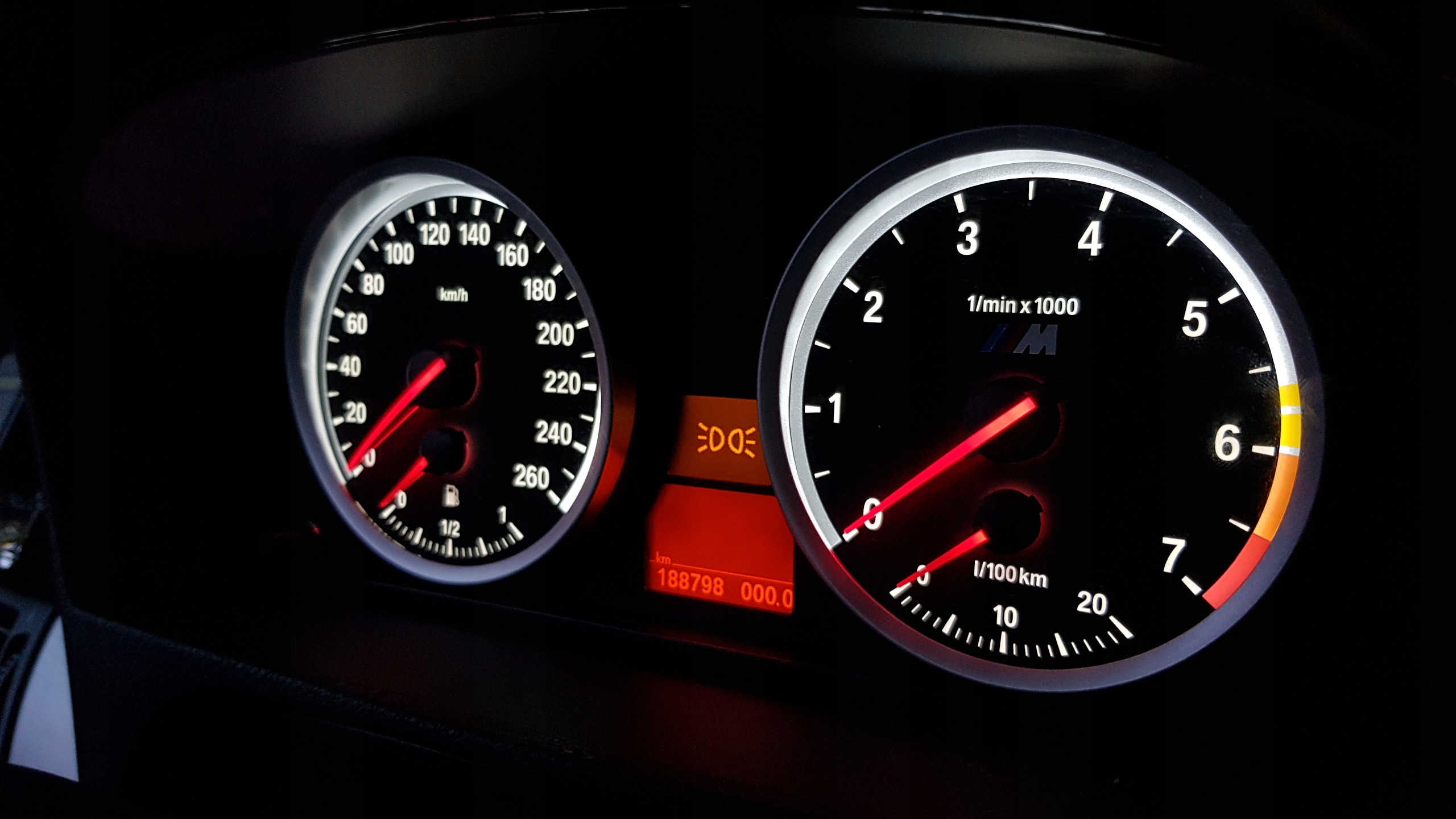 M5 Style Przerobka Zegarow Dla Bmw E60 E61 5er Krakow Allegro Pl