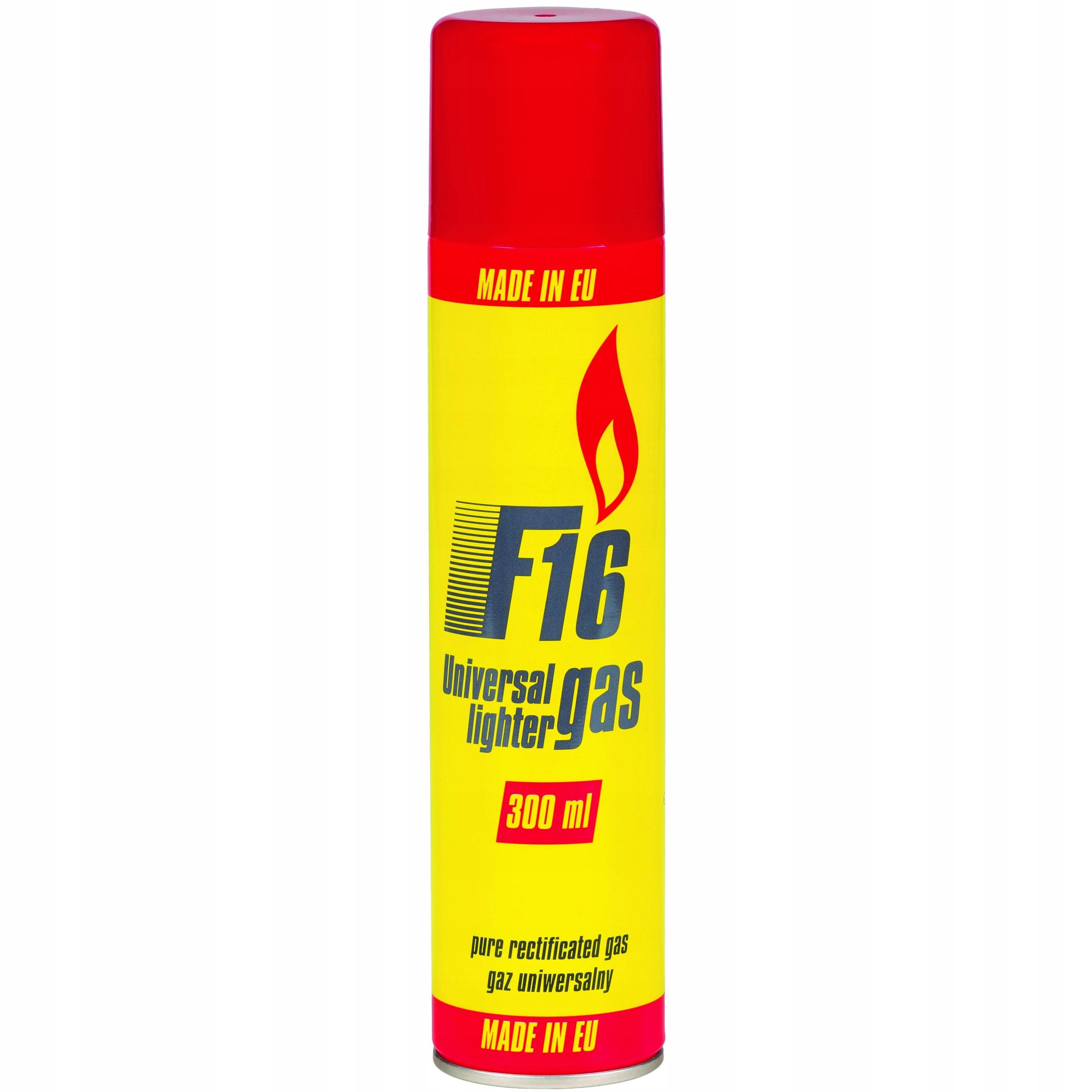 Газ F16 300 мл для зажигалок !!ОРИГИНАЛЬНЫЙ!!