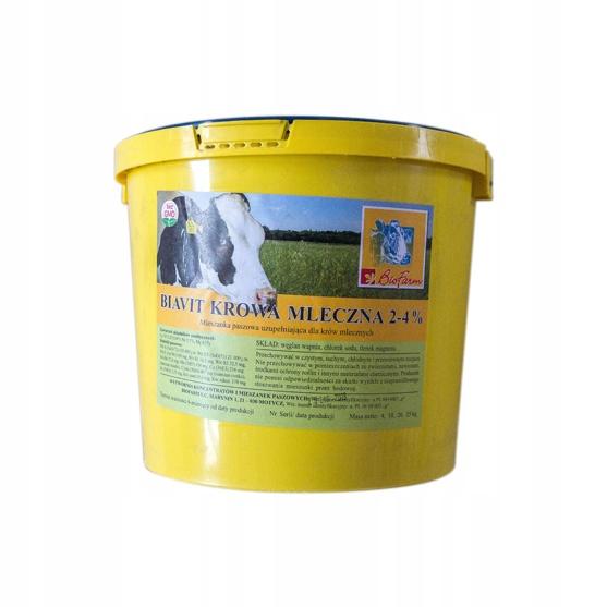 КОРОВА МОЛОЧНАЯ 4кг витамины и минералы для крупного рогатого скота