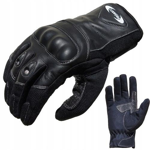 Перчатки мотоциклетные материал, кожа proanti lks, фото 0