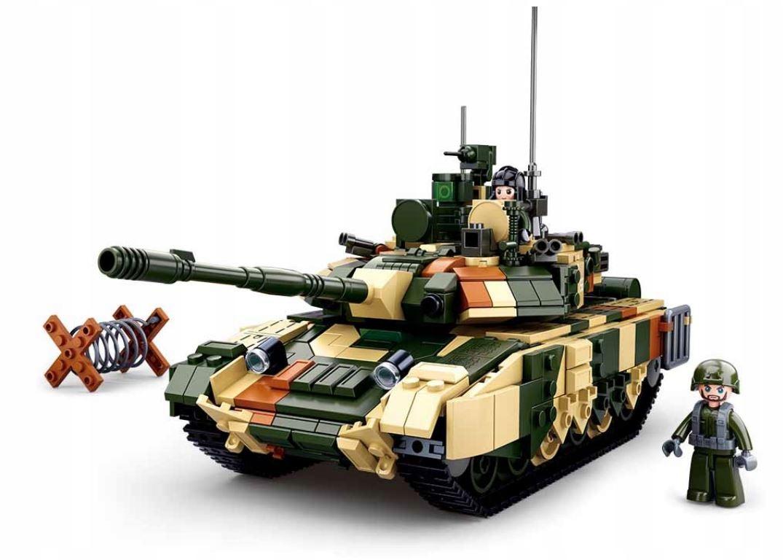 SLUBAN BLOCKS TANK RUSSIAN T-90 MS ARMY 758 ks