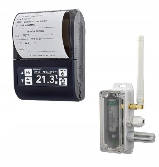 регистратор температуры термографом эско dr203